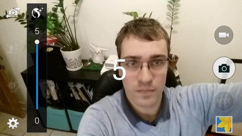 Selfie - Samsung Galaxy S5 - Test Geeks and Com