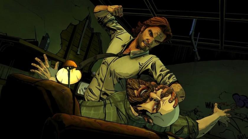 La série inaugure chez Telltale un gameplay plus tourné vers l'action