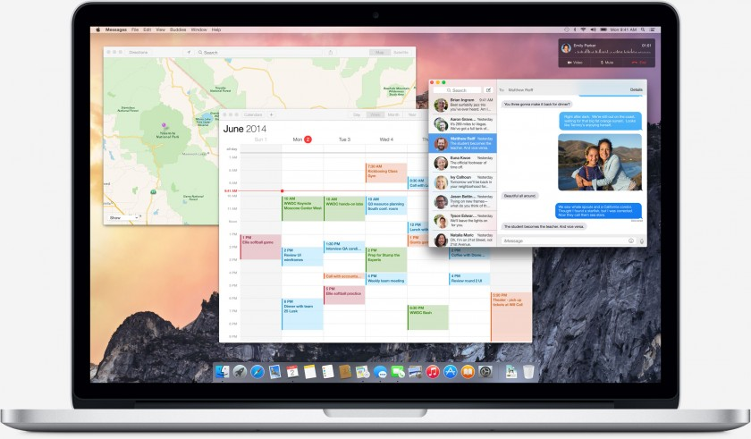 osx Yosemite - Apple WWDC 2014