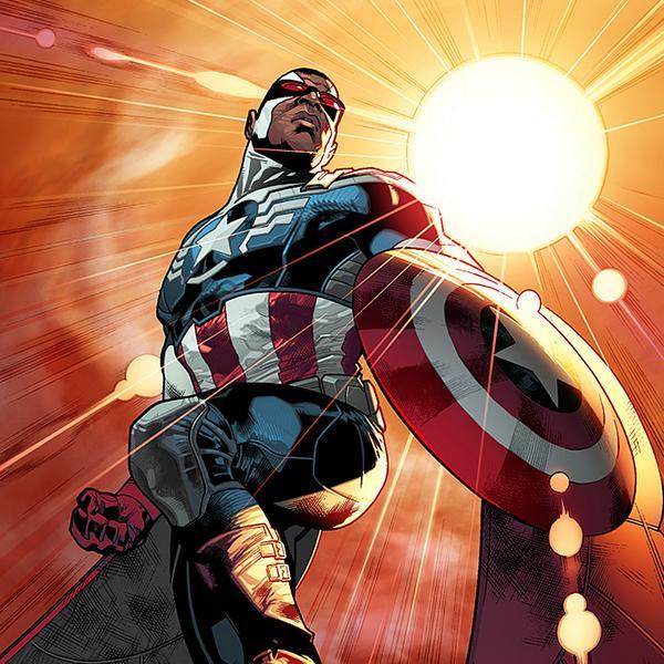 Captain America 2014 - Falco