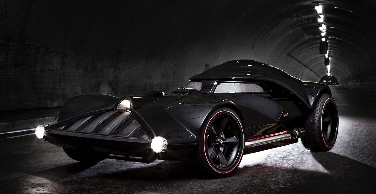 star wars hot wheels imagine la voiture de darth vader geeks and com 39. Black Bedroom Furniture Sets. Home Design Ideas