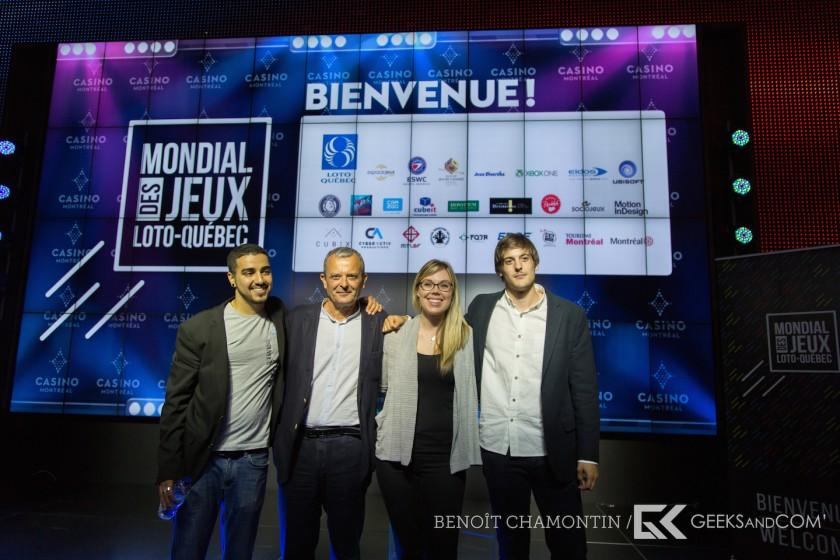 Mondial des Jeux Loto-Quebec 2014 - Conference de presse