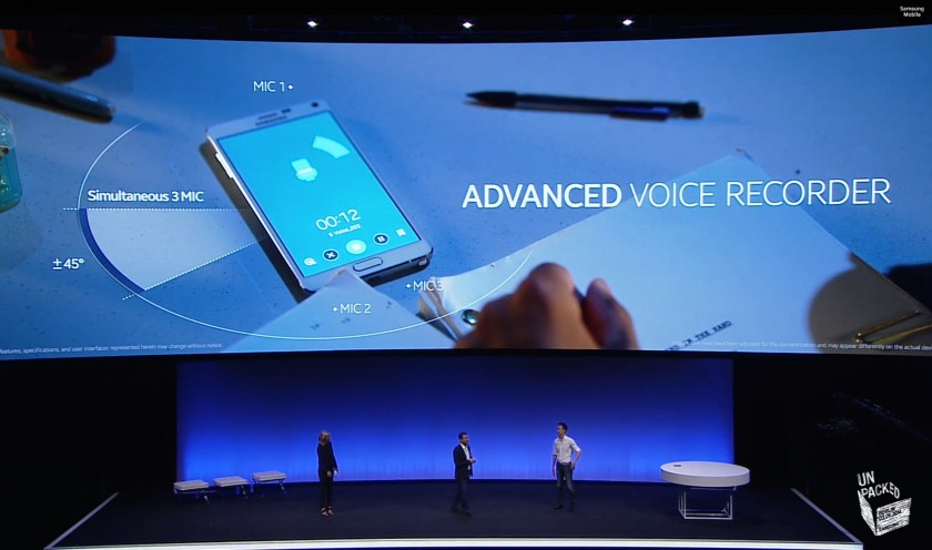 Advanced Voice Recorder - Samsung Galaxy Note 4