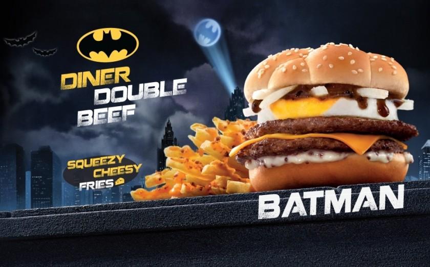 Burger batman - Mcdonalds - Justice League