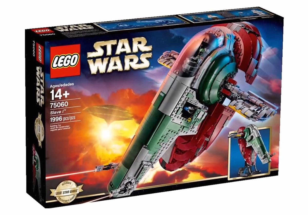 Star wars un coffret lego pour le vaisseau slave 1 de - Lego star wars vaisseau droide ...