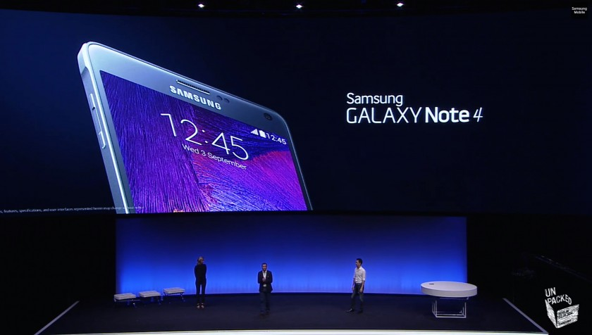 Samsung Galaxy Note 4 - IFA 2014 Unpacked