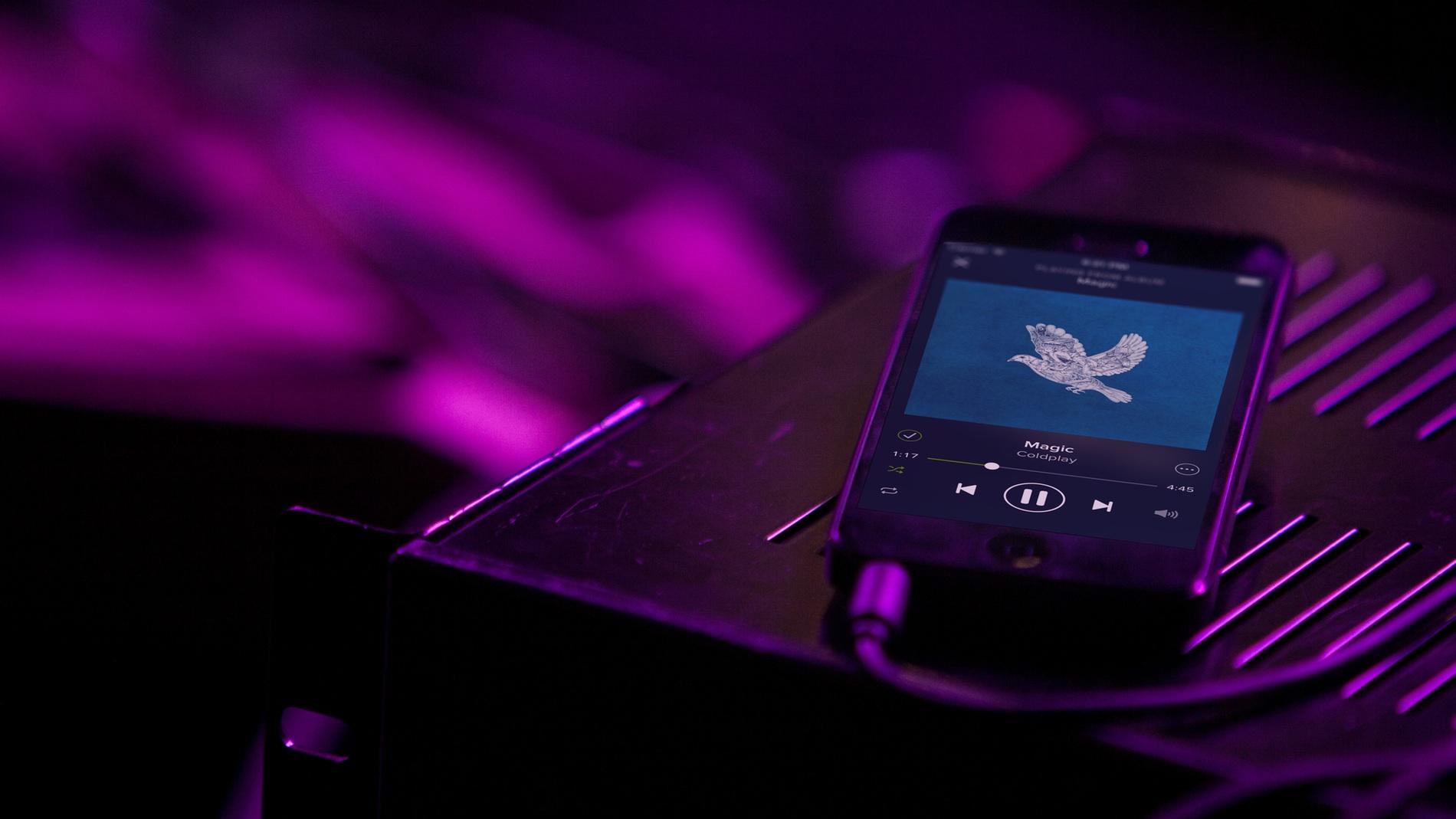 Listen Music - Spotify iPhone