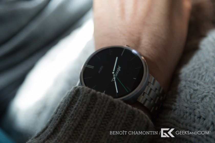Motorola Moto 360 - Android Wear - Test Geeks and Com -1