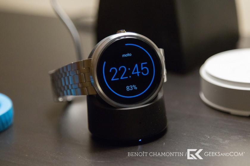 Motorola Moto 360 - Android Wear - Test Geeks and Com -10