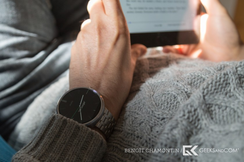 Motorola Moto 360 - Android Wear - Test Geeks and Com -2