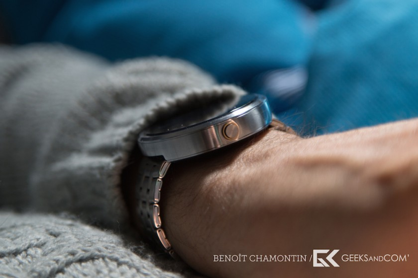 Motorola Moto 360 - Android Wear - Test Geeks and Com -5
