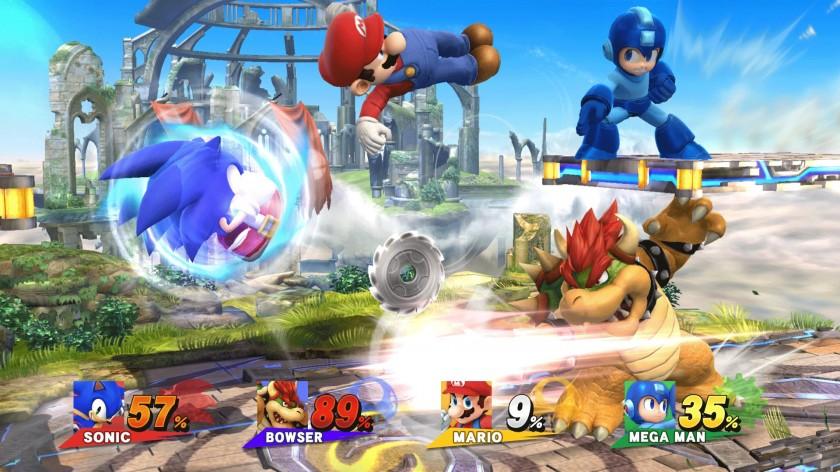 Nintendo Wii U - Super Smash Bros - Gameplay
