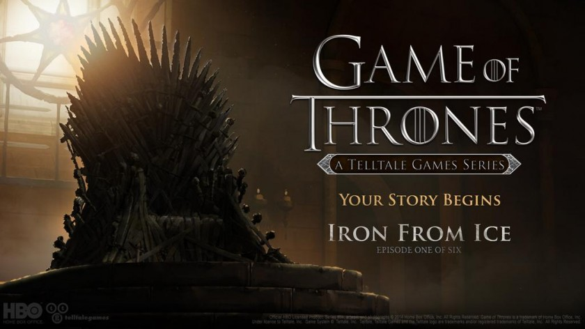 Game Of Throne Iron From Ice Telltale Games