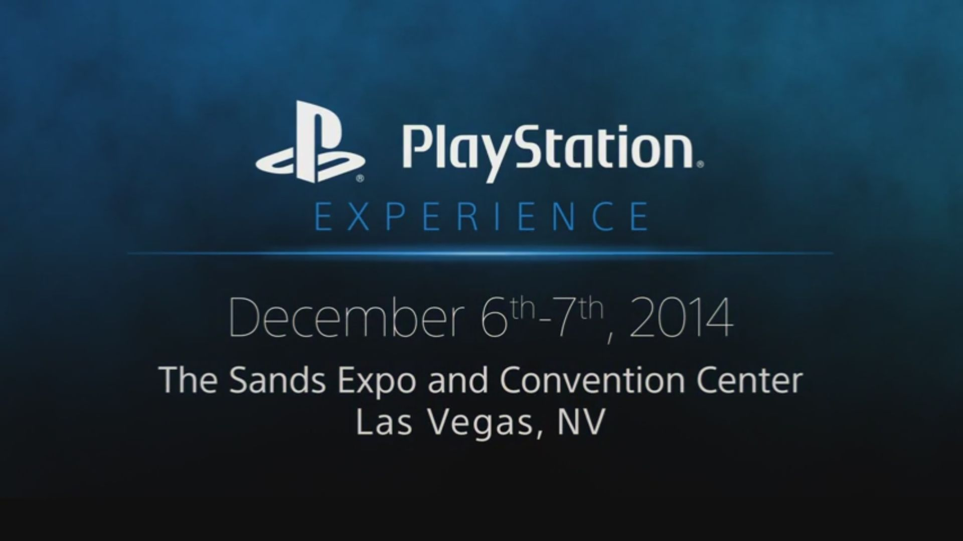 Playstation experience dates
