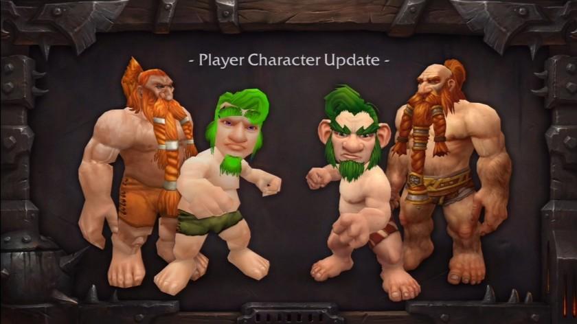 À la demande des joueurs, Blizzard a donné un petit coup de pinceau à ses personnages