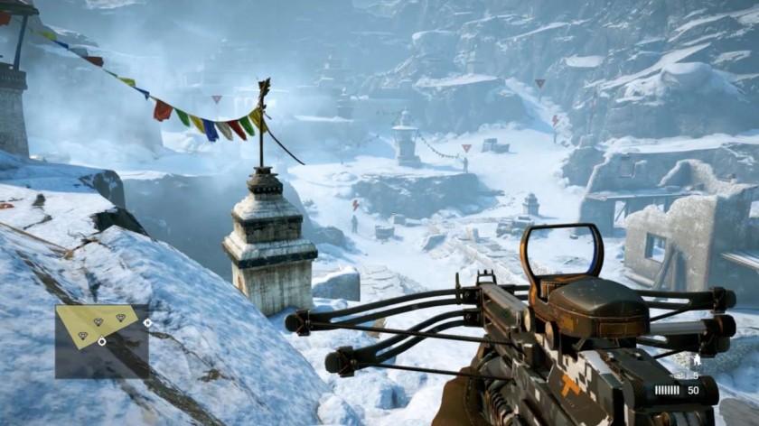 Mission dans les sommets de l'Himalaya : très immersif