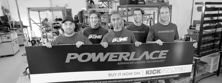 powerlace shoe technology - powerteam