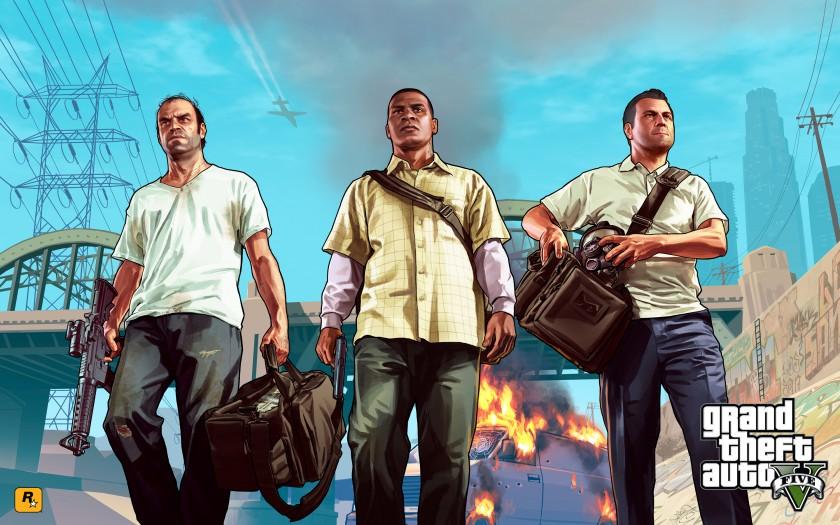Les 3 héros, Trevor, Franklin et Michael, apportent des dialogues géniaux, mais une histoire globale un peu en retrait