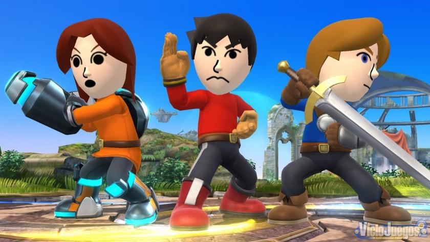 Super Smash Bros Gameplay - Mii