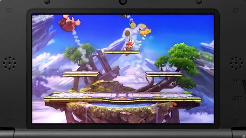 Super Smash Bros Gameplay Nintendo 3DS