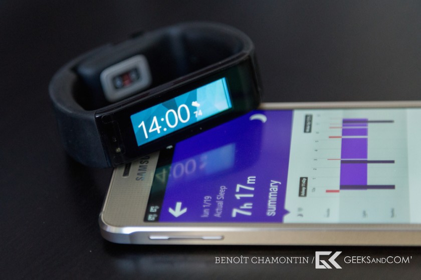 Bracelet connecte Microsoft Band - Test Geeks and Com -14