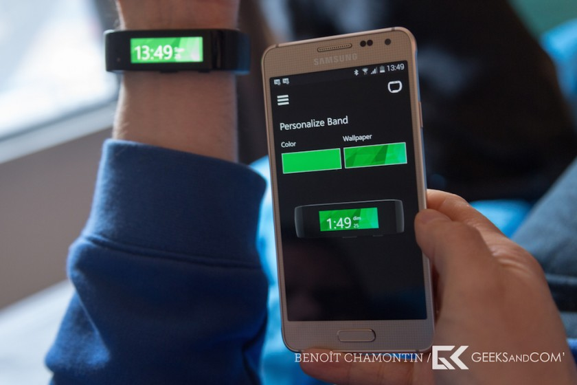 Bracelet connecte Microsoft Band - Test Geeks and Com -4