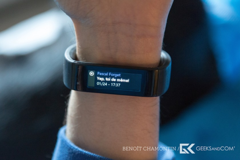 Bracelet connecte Microsoft Band - Test Geeks and Com -9