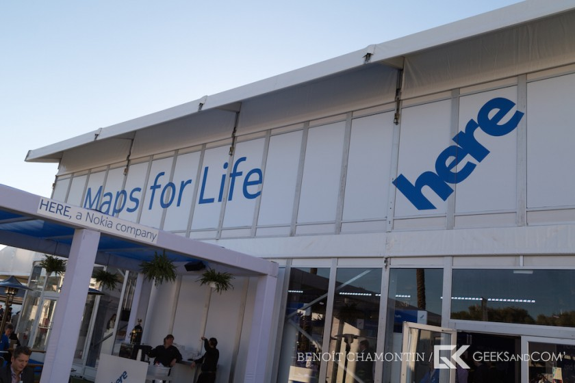 CES 2015 - Nokia Here - Android - Samsung Gear S-4
