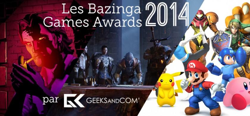 Top 3 - Bazinga Games Awards