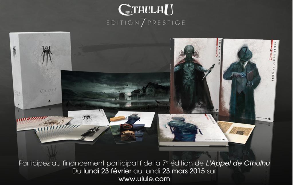 Appel de Cthulhu - crowdfunding