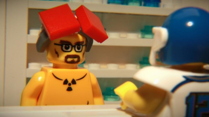 Brick Bowl - Lego Stop Motion - Publicites Super Bowl 2015 - AC Studios