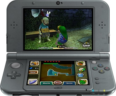 The Legend of Zelda Majoras mask 3d - New Nintendo 3DS