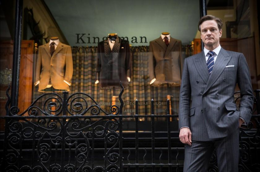 Harry Hart (Colin Firth) représente à merveille l'esprit des vieux films d'espionnages