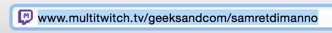 Astuce Multitwitch URL