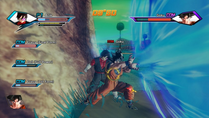Dragon Ball Xenoverse Screen Combat 02