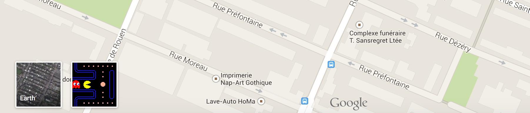 Pacman - Google Maps 1
