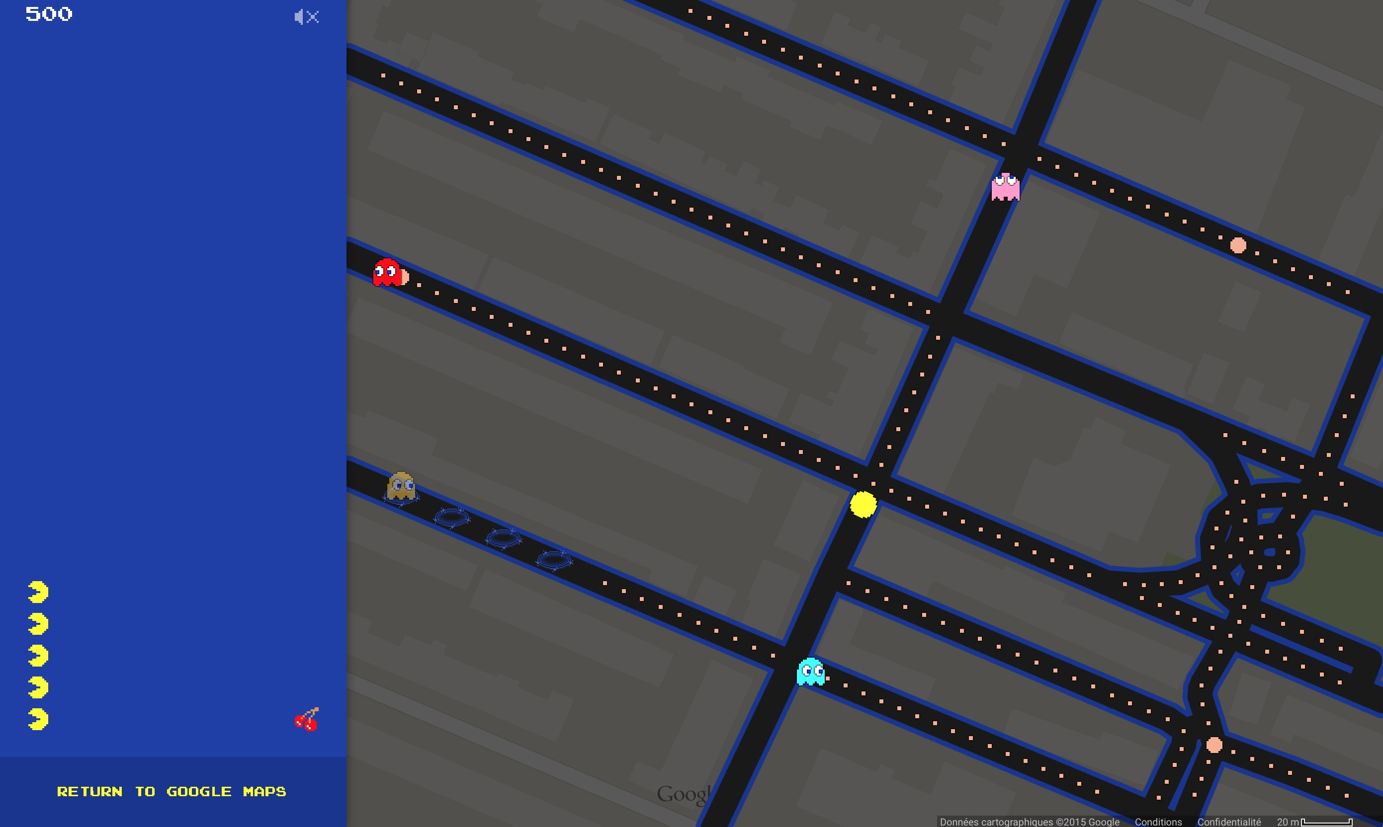 Pacman - Google Maps