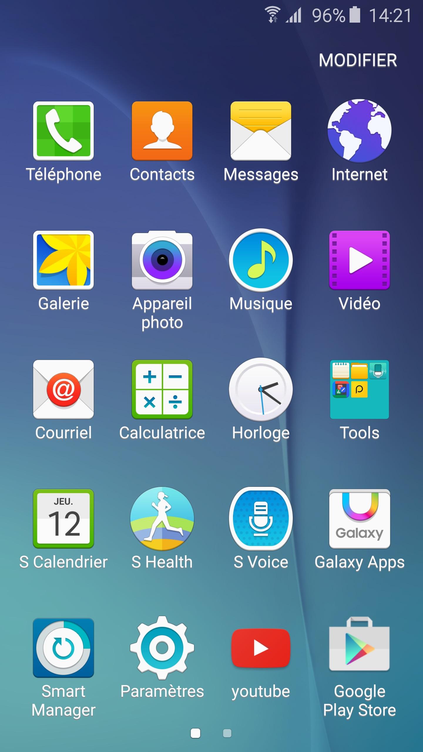 Samsung galaxy s6 quelles sont les applications pr install es et comment les g rer geeks - Samsung dive app ...