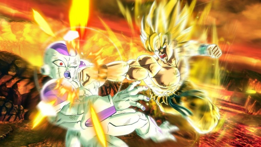 Super Saiyan VS Freezer