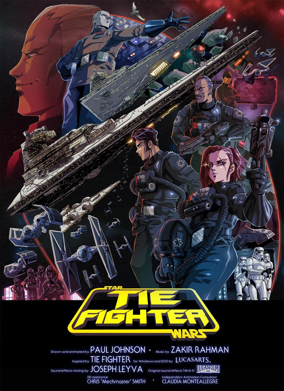 TIE Fighter - Star Wars - Short Film - Affiche