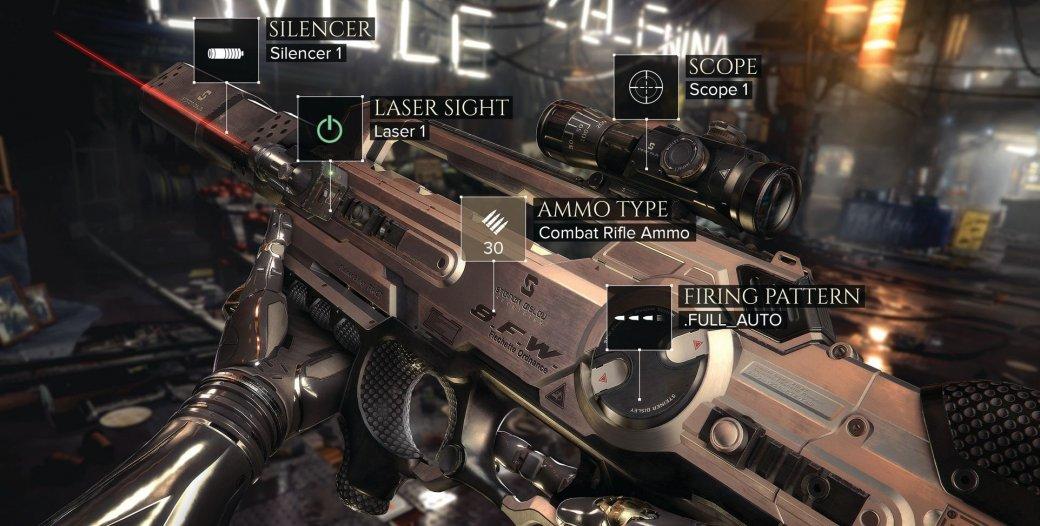 Armes - Deus Ex - Mankind Divided