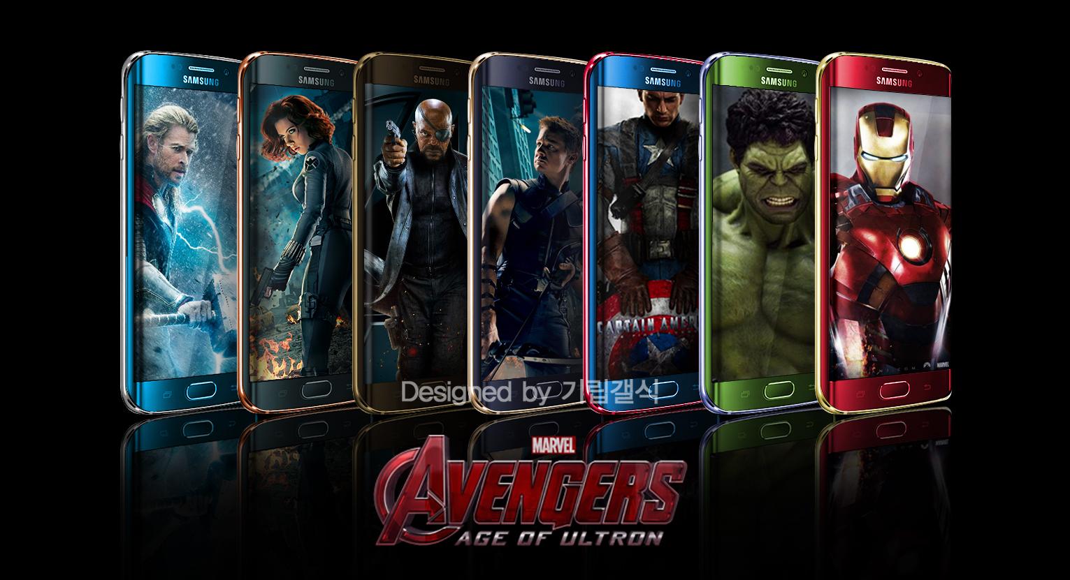 Samsung va lancer des accessoires Avengers pour Galaxy S6 et S6 ...