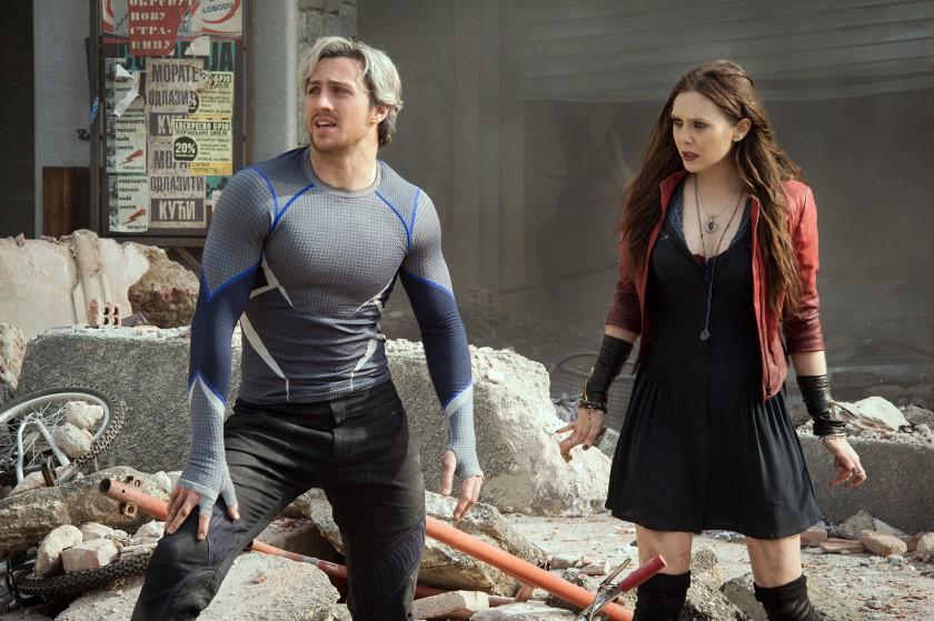 Marvel - Avengers l'ère d'ultron - maximoffs