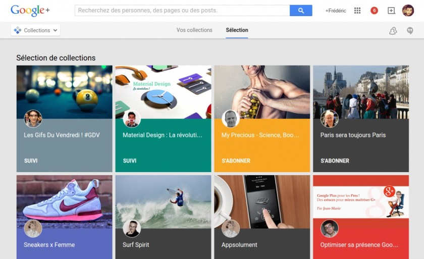 Google Plus - Collections 1