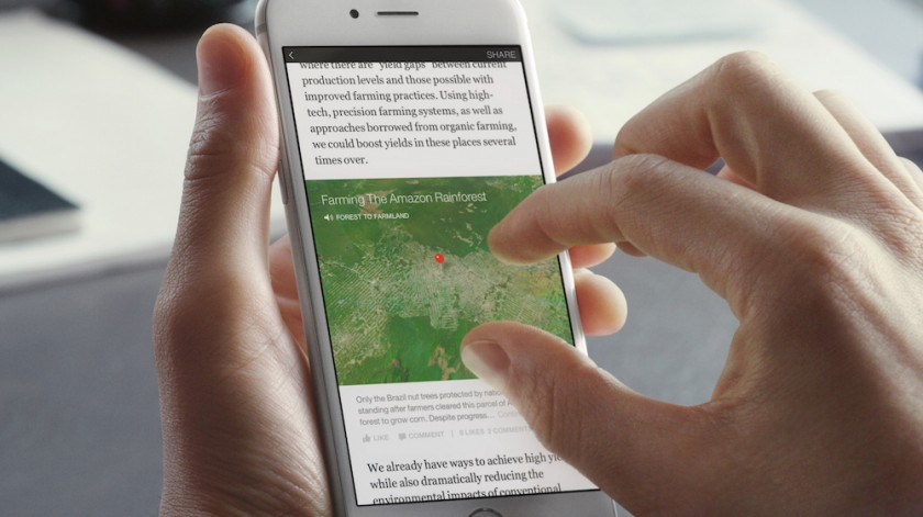 Instant Articles - Facebook - Map