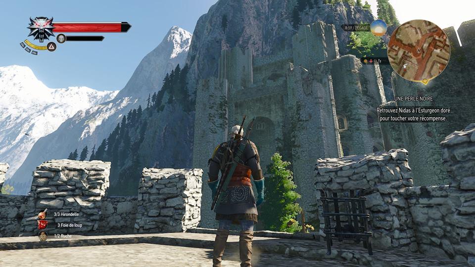 Witcher 3 - Kaer Morhen