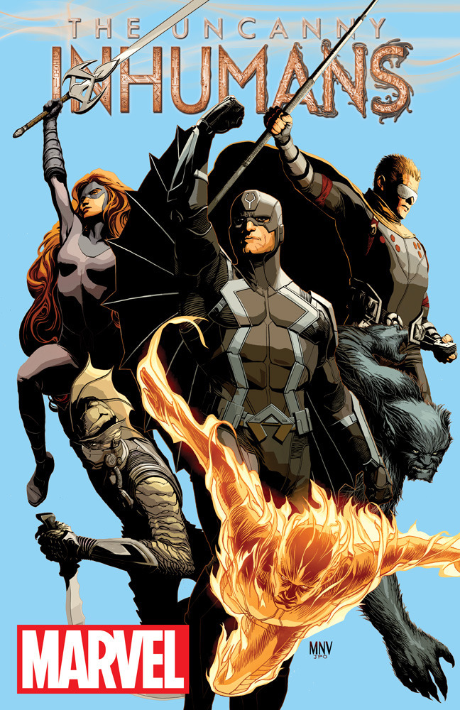 All New All Different Marvel - Uncanny Inhumans - 2