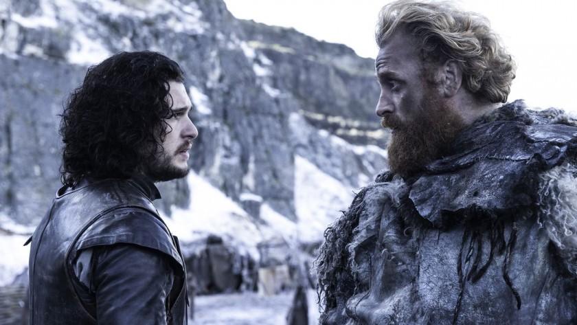 Jon Snow Thormund Game Of Thrones HBO