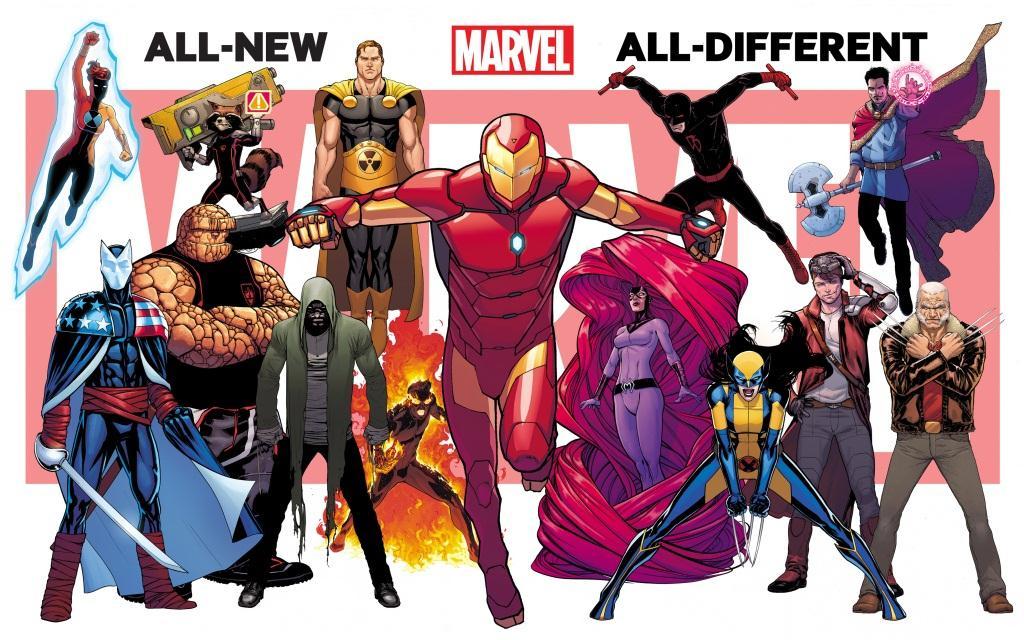 Marvel dévoile les survivants de Secret Wars - Geeks and Com'