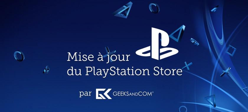 MaJ PlayStation Store